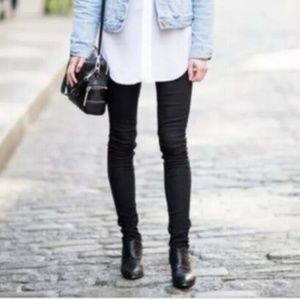 Rich & Skinny Black TAR Skinny Jeans Mid Rise